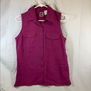 The North Face Cranberry Sleeveless Shirt Top S